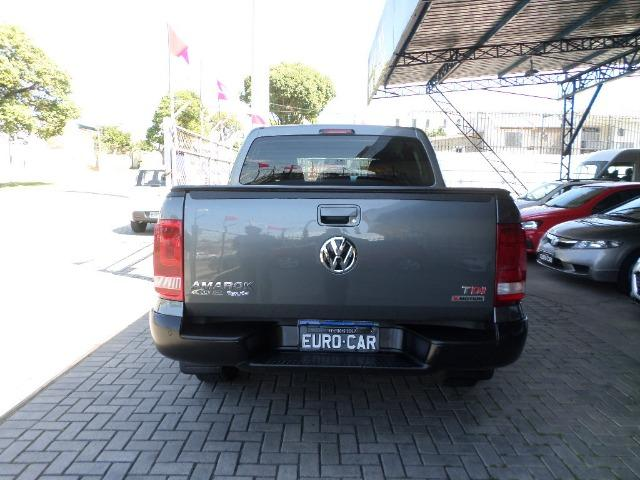 VW Amarok Trendline Diesel Turbo 2018 4x4 Automática (s10 hilux triton ranger) - Foto 6
