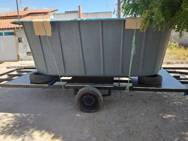 Vendo piscina de fibra, já instalada, contato * - Foto 3
