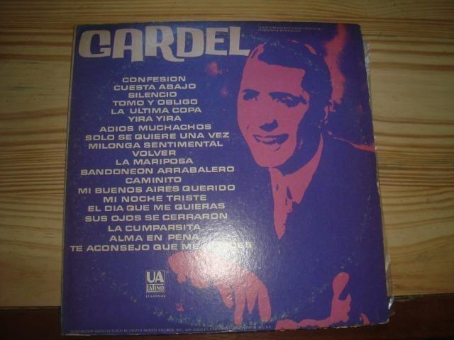 Carlos Gardel, Tango, Album duplo com 2 Lp importados, excelente conservação