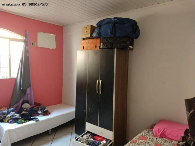Casa Usada para Venda em Várzea Grande, 07 de maio, 2 dormitórios, 1 banheiro, 1 vaga - Foto 3