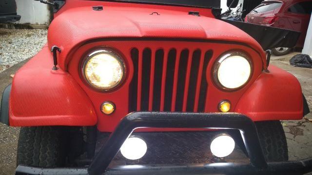 Jeep Willys 1977 4X4 Com Reduzida - Foto 6