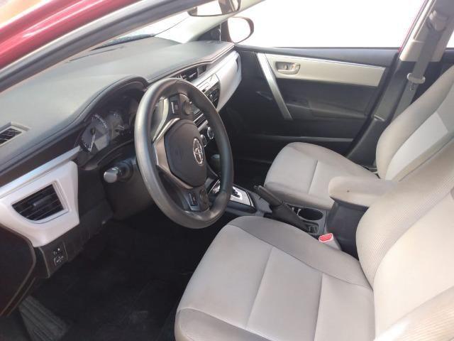 Toyota Corolla GLI 1.8 2015 FLEX - Carro Extra! - Foto 10