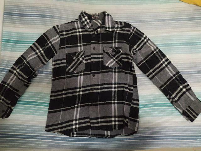 Camisa de flanela Thony nova - Foto 2