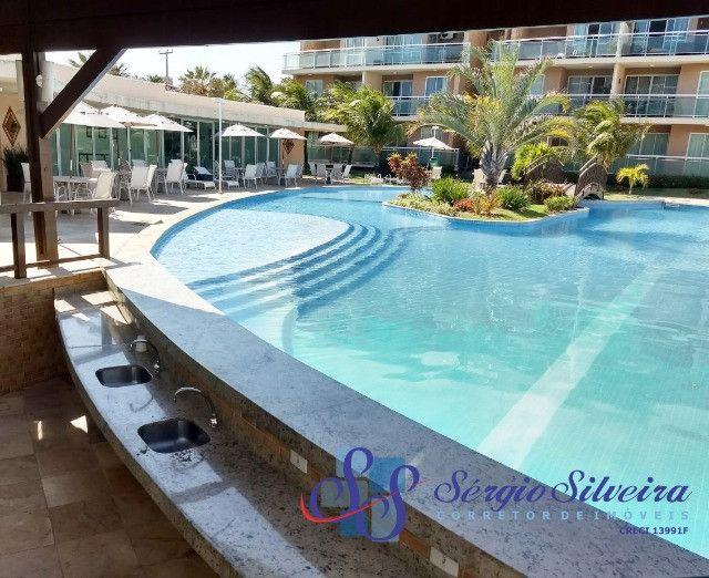 Apartamento no Palm Beach no Porto das Dunas com 2 quartos - Foto 12
