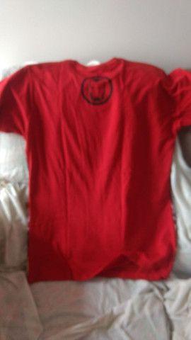 Camiseta homem de ferro Marvel piticas tamanho P - Foto 2