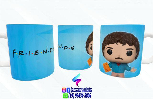 Canecas Colecionáveis Funko Pop Friends! - Foto 4