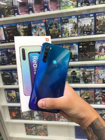 Xiaomi note 8 azul seminovo 64gb!! - Foto 4