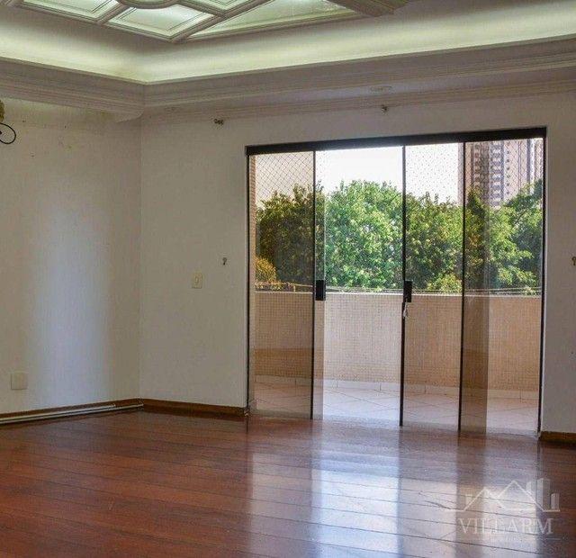 Apartamento com 4 dormitórios para alugar, 196 m² por R$ 5.700,00/mês - Vila Santo Estéfan - Foto 2