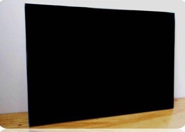 painel liso preto para fotos