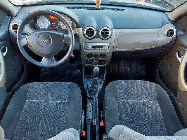 Sandero Privilege 1.6 8V Completo 2009 - Aceito Troca - Financio 100% - Foto 9