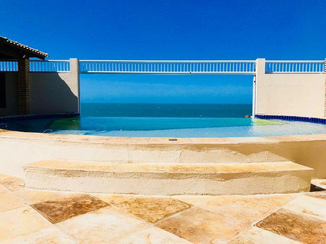 Casa de Praia ALTO PADRÃO e STATUS Diferenciado Frente ao mar Iparana - Foto 14