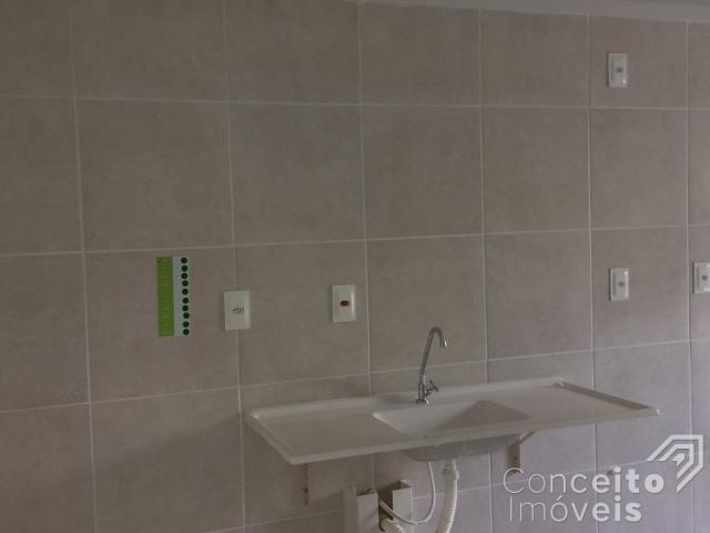 Apartamento para alugar com 1 dormitórios em Jardim carvalho, Ponta grossa cod:393113.001 - Foto 9