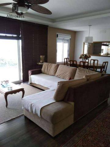 Apartamento com 3 suítes à venda, 162 m² por R$ 1.490.000 - Central Parque - Porto Alegre/ - Foto 2