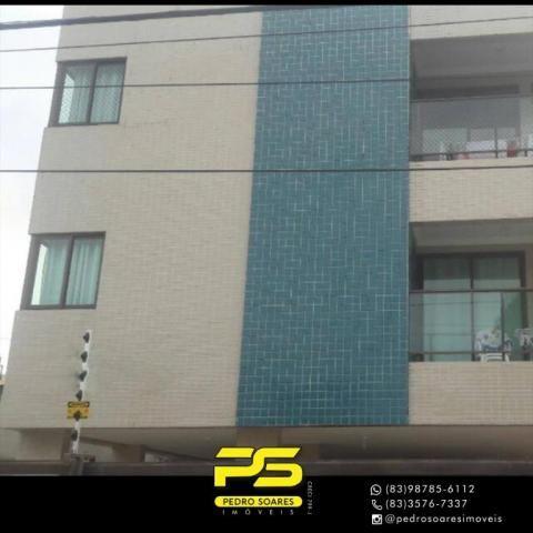 Apartamento com 2 dormitórios para alugar, 60 m² por R$ 1.700/mês - Altiplano Cabo Branco