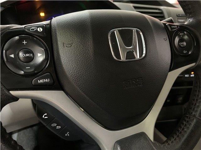 Honda Civic 2014 2.0 lxr 16v flex 4p automático - Foto 10