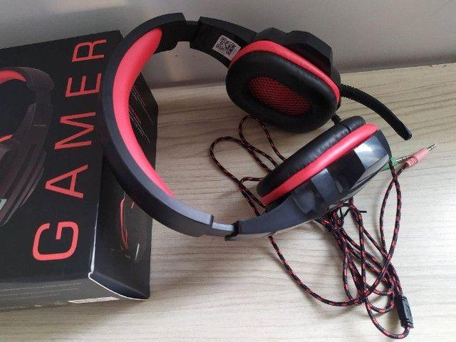 Headset Fone Pc Gamer P2 Stereo Multilaser Ph120 - Foto 4