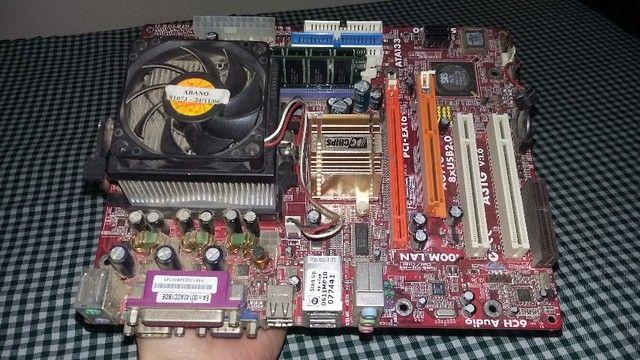 vendo placa mae PC-Chips A31G - Foto 6