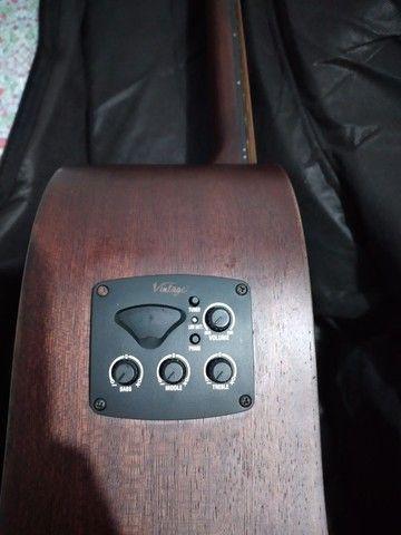 Violão Vintage ótimo som! - Foto 3
