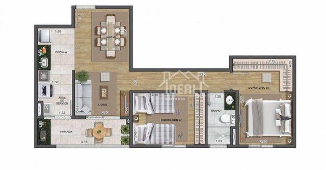 Apartamento para venda com 57 m² e lazer completo - Foto 10