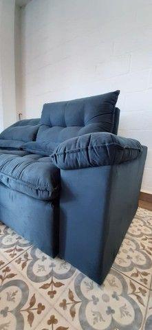 Sofá retrátil e reclinável arezzo 2,10