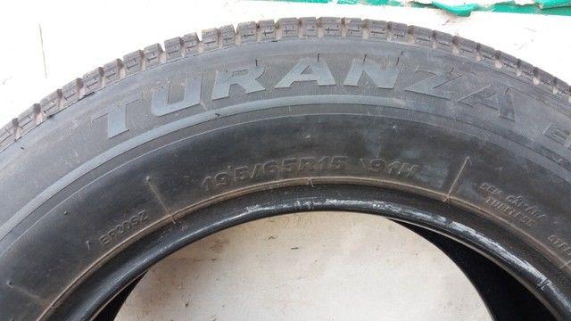 1 pneu semi novo - Foto 3