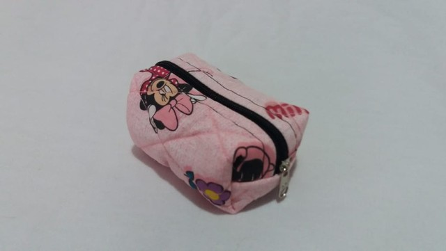 Mini Nécessaire ou porta moedas personagem Minnie - Foto 2