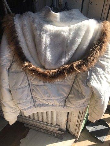 Jaqueta de pelinhos tamanho g - Foto 3