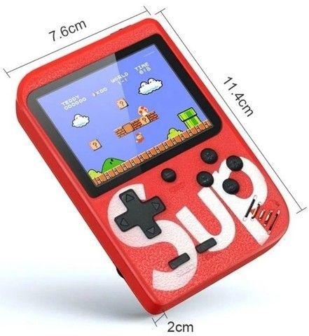 Videogame Portátil 8 bits Retrô 400 Jogos Nintendinho Gamebox - Foto 3