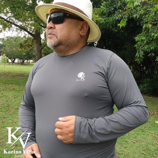 Camisas de Proteção UV Plus Size