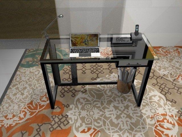 Mesa de Escritório, em Madeira Maciça. Vendas só através do Whatsapp Abaixo - Foto 5