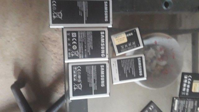 Baterias de celular lote de 9 usada - Foto 2