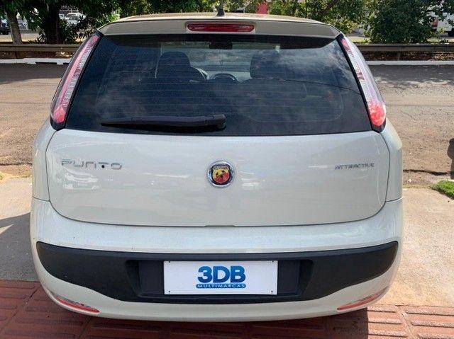 Fiat Punto 1.4 Attractive 8v Flex 4p 2013-2014 31900 - Foto 4