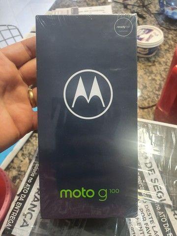 Motorola moto g100 ( zero, lacrado na caixa, com nota fiscal é garantia de 1 ano)