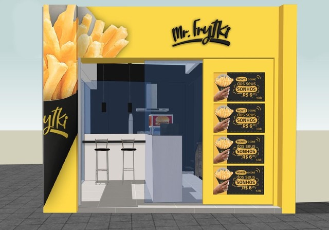 Fast Food Completo - Com todos Equipamentos