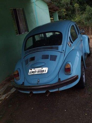 Fusca Azul motor 1500 ano 77 - Foto 4