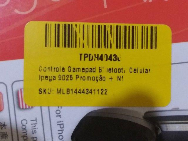 Controle Ípega Celular e PC com defeito. - Foto 2