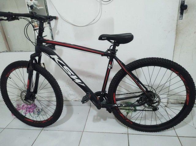 "Bike ksw aro 21 quadro 21"" top - Foto 5"