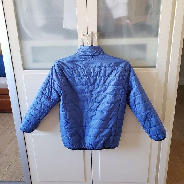 Jaqueta de Nylon infantil reversível tamanho 7-8 - Foto 4