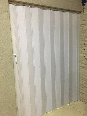 Porta sanfonadas (SEM instalação) c/opção de cor e tamanho. A partir de de 120,00 - Foto 4