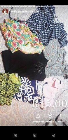 Vendo roupas e calcados Tam P ao M, R$10,00 a R$20,00 - Foto 4