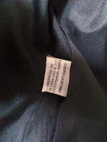 Jaqueta de couro(legítimo) - Foto 2