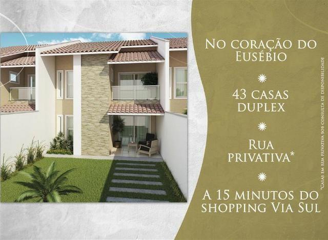 Casa, próximo ao centro de Eusébio, 4 suítes