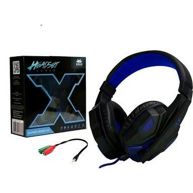 Fone Headset Gamer Led Com Microfone Super Bass HD
