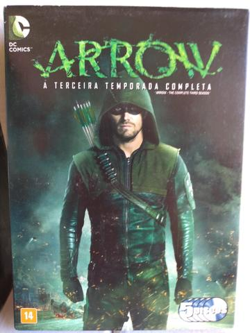 Box DVD ORIGINAL Arrow 1ª a 5ª Temporada - Foto 3