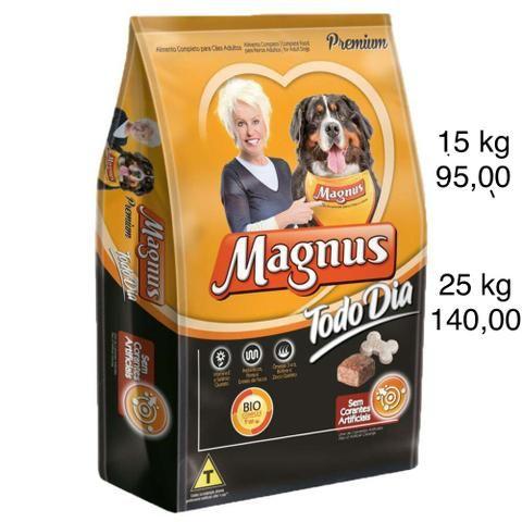 Ração Magnus Todo Dia 15 e 25 kg