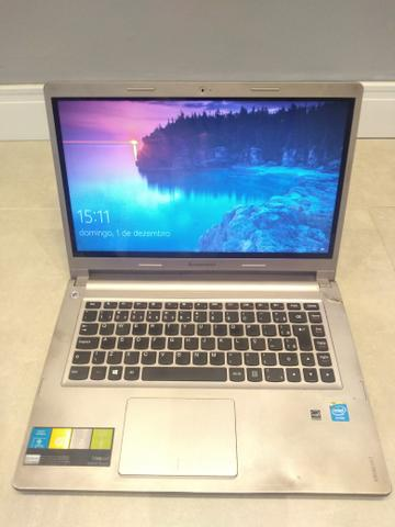 Notebook Ideapad Lenovo S400 Celeron 4GB memória HD 500GB
