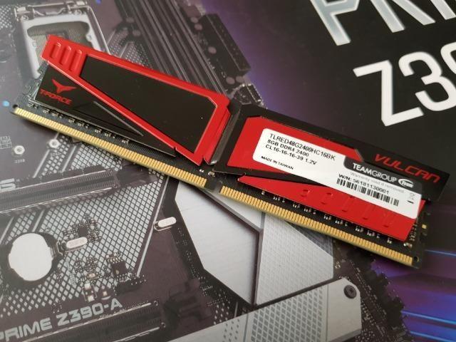 Processador, memória ram e placa mãe para jogos - Foto 2