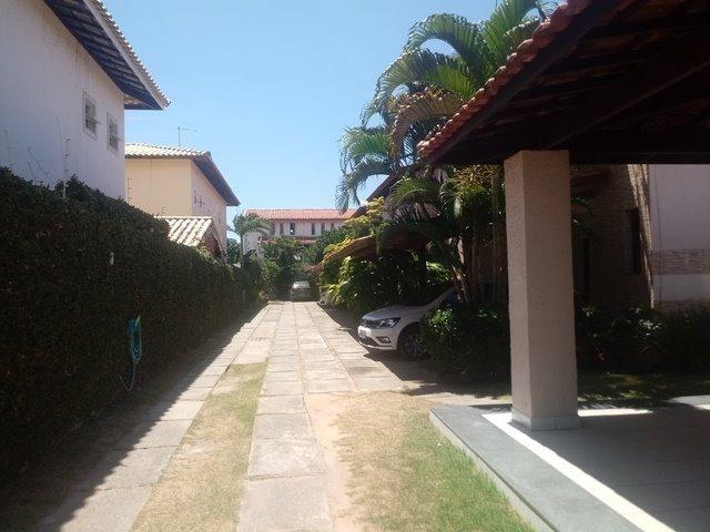 Casa de condominio para locação perto do farol de itapua, 3/4 suite, piscina, nascente - Foto 3