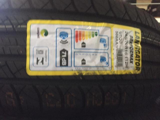 Jogo de pneus 205/45/17 em 8x nos cartões sem 174,00 os 4 - Foto 2