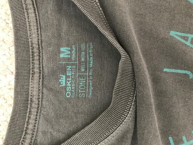 Camiseta da osklen, tamanho M - Foto 3